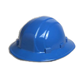 Omega II Full Brim BLUE Full Brim Hard Hat, 6-Point Suspension With Ratchet - BLUE Full Brim Hard Hat, OMEGA II Full Brim 6-Point Suspension with Mega Adjustable Ratchet. Price/Each.