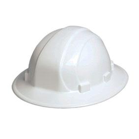a22a62e0181 Omega II Full Brim White Hard Hat