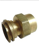 1-1/4 inch Acme x 1/2-inch FNPT Brass Propane Adapter
