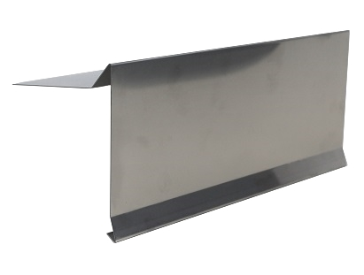 In X In X Ft Gravel Stop Roof Metal Ga Stainless Steel - 10 ft stainless steel table