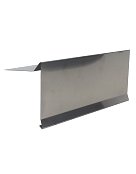 4 in.  X 5 in. X 10 ft. Gravel Stop Roof  Metal, 24 Ga 304 Stainless Steel