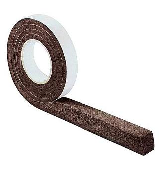 1-1/2 Thick x 1 in. Expanding Foam Seal Tape, Metal Roof Closure, 15 ft. - 1-1/2 Thick x 1 in. Wide Expanding Foam Sealant Tape for Metal Roof Closure. Acrylate impregnated polyurethane w/ adhesive on 1-side. Supplied compressed to 3/8 thick, 1-inch wide x 15 ft. roll. Price/Roll. (12/case; order full cases for added discounts)