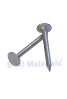 1 inch Double Hot Dipped Roofing Nails, Smooth Shank, Bulk (50 lb.)