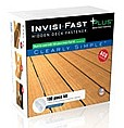 Invisi-Fast Deck Fasteners PLUS, 100 Piece w/ACQ Screws - #IF-PLUS100, 100 piece Invisi-Fast PLUS Invisible Deck Fastener Kit with ACQ grade screws. The 100 PLUS pieces, 200 ACQ compatible square drive Deck screws, 1 Square driver bit. PRICE/KIT.