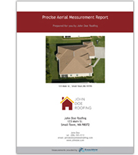 roof measurement report