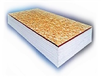 InsulLam Foam Insulation Board, 12 in., with 1/2 in. OSB - InsulLam EPS Composite Insulation Board, 4 x 8 Feet with 12 inch EPS Foam and 1/2 inch OSB Board. R=45.5. Price/Sheet. (Min Order Qty: 80 sheets; Lead-time 1-2 weeks)