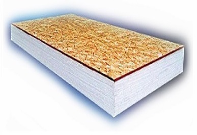 InsulLam Insulation Board, 6 inch with 7/16 inch OSB - InsulLam EPS Foam Composite Insulation Board, 4 x 8 Feet with 6.0625 inch EPS Foam and 7/16 inch OSB Board.  R=22.1. Price/Sheet. (Min Order Qty: 6 pieces; Lead-time: 2 weeks)