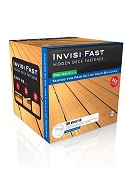 Invisi-Fast Deck Fasteners ANY ANGLE 1/4 Bar, 100 Piece w/SS Screws