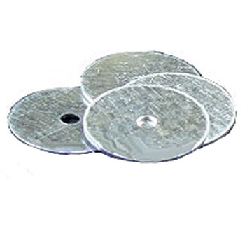 1 Inch x 16 Gauge Metal Washer (4000) - 1 Inch diameter x 16 Gauge galvanized steel washer for Air Tools. 4000/Box. Price/Box.