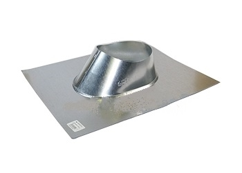 6 inch Galvanized IP Jack / Roof Pipe Flashing - 6-inch Roof Pipe Flashing / Pipe Jack, 26 Gauge Galvanized Steel. Fits 6-inch size pipes on flat to 5/12 pitch roofs. Price/Each. (shipping lead time 2 days)