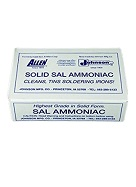Pure Sal Ammoniac, 1/2-Lb. Solid-Form Bar