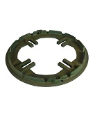 Josam Fit-All Clamp Ring, Cast Iron