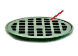 Josam 34420 Cast Iron Drain Grate, 14 inch OD - Josam #34870 Cast Iron Drain Grate 34420. Fits 34710 and 34720 Series Drains. Price/Each. (shipping leadtime 1-3 days)