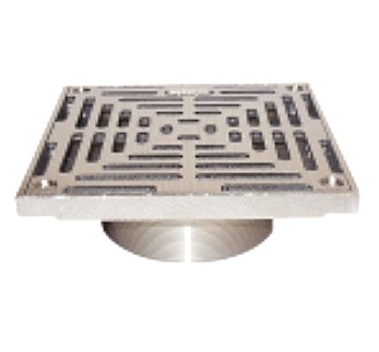 Josam 8S Super-Flo Square Nikaloy Drain Strainer, 7-1/2 Sq. - Josam 8S Super-Flo Square Nikaloy Floor Drain Strainer, 7-1/2 inches Square. Price/Each. (aka Josam # -8S, 0084400; shipping leadtime 1-2 business days)