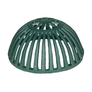 10-1/4 in. Josam 22010 Cast Iron Dome (1) - 10-1/4 in. OD x 5-1/4 inch High Josam Replacement Cast Iron Drain Dome, Beehive Type. Fits Josam 22010 series Drains, (aka Josam part 029680, J22010CI). Price/Each.