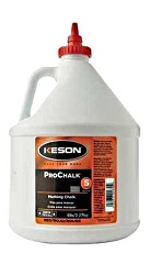 Keson ProChalk BLACK, 5 lb bottles (case/4)