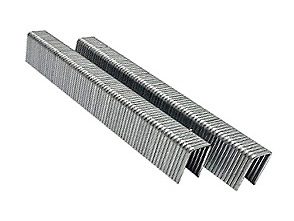 L06SS 3/8 Leg x 1/4 Narrow Crown Staples, 18 Ga Stainless (5000) - L6SS L SERIES 18 GA NARROW CROWN STAPLES, 3/8 in. LEG X 1/4 in. CROWN, 304 STAINLESS STEEL. 5000/BOX. PRICE/BOX.