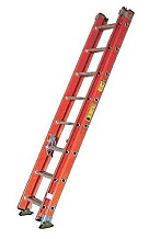 16 ft. Fiberglass Extension Ladder, Type 1A 300 Lb., Made/USA