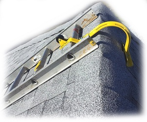 Acro 11084 Heavy Duty Roof Ridge Ladder Hook With Wheel