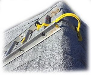 Acro 11084 Heavy Duty Roof Ridge Ladder Hook with Wheel