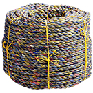 1-1/2 inch x 600 ft. 3-Strand Poly-Random Leaving Line Rope