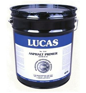 Lucas 316 Standard Asphalt Primer Miami Dade Grade 5g
