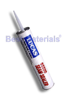 Lucas 5500M Seam Sealer, Brushable Mastic, Black, 30 oz. Tube (Box/12 Tubes)