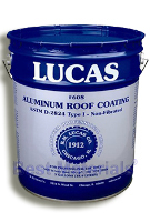 Lucas 608 Aluminum Roof Coating, Non-Fibrated (5G)