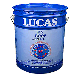 Lucas 724 Fibrated Liquid Roof Coating 5g