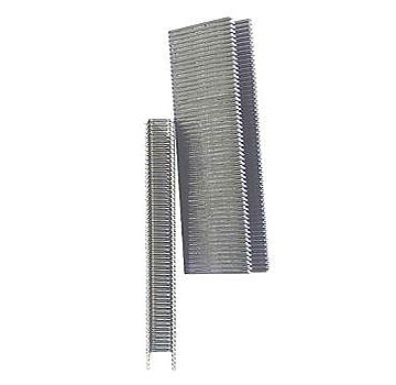 M15 1-1/4 Leg x 3/8 Crown Staples, 18 Ga EG (30000) - M15 Medium Wire M-Series Collated Staples, 1-1/4 inch Leg X 3/8 Crown (Senco M17 Equivalent). Wire is .050 x.044 thick 18-Gauge Galvanized Steel. 5000/Box. 6-Boxes/Case (30,000). Price/CASE. (special order; shipping leadtime 1-2 days)