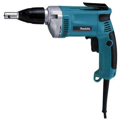 MAKITA 6823, 2500 RPM Screwdriver, 6.5A 110VAC - Makita 6823, 2500 RPM Screwdriver Gun, 6.5 Amp, 110VAC, 133 in/lb Torque, Variable Speed, Reverseable. Price/Each.