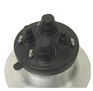 4-Pipe EPDM Flashing Boot (no base included) - Universal 4-Pipe Flashing Cap / Boot (fits onto a 8-inch spun aluminum base, not included). EPDM cap has 4-feedthroughs. Fits pipe sizes of 1/4, 3/8, 1/2, 3/4, 1, 1-1/2 or 2 inch. Price/Each.