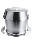 Aluminum Extra Large Capacity (XLC), ONE-Way Breather Vent