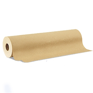 General Purpose Masking Paper, 18 inch X 180 ft. - General Purpose Masking Paper, 18 inch x 180 foot Roll (457 mm x 54.8 m). Brown color economy masking paper. Price/Roll. (12 rolls/case, order full cases for additional discount)
