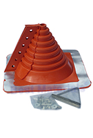 #1 Retrofit Master Flash Red Silicone Square Base Boot