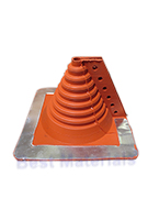 #2 Retrofit Master Flash, Red Silicone Square Base Boot (1)