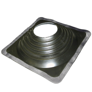 #9 Master Flash Black EPDM Square-Base Pipe Flashing - #9 Master Flash Black EPDM Pipe Flashing Boot. 25x25 Inch Square Base, 6 Inch High. Fits 9.5 - 20.5 Inch (241mm To 520mm) Pipes. Price/Each.