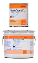 MasterFlow 647 Liquid Epoxy Grout, 2.5G Kit