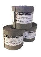 SBS Shingle Starter Roll, 8 in. x 33.3 Ft. Rolls, BLACK, 125 Rolls