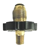 Propane Adaptor, Male Soft Nose POL x 1/4 MNPT