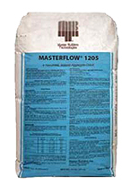 Masterflow 1205 Pumpable Hi-Strength Non-Shrink Grout, 55lb, 60 bags