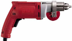 Milwaukee #0299 1/2 in.-850 Magnum Electric Drill - Milwaukee #0299 1/2 in. 850 RPM Powerful 8.0 Amp 120V, Magnum Electric Drill, with Side Handle. Factory Reconditioned with Full 5 year Factory Warranty.