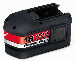 Milwaukee #48-11-2230 18V 2.4 A-H NiCd Battery - Milwaukee
