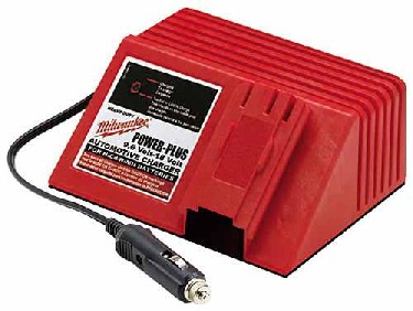 Milwaukee Ni-Cd Charger DC - Milwaukee 48-59-0186 Universal Ni-Cd Battery Charger. Connects to 12V automobile power outlet.