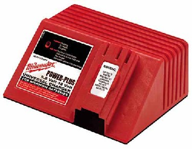 Milwaukee Ni-Cd Charger AC - Milwaukee 48-59-0255 Power Plus 120 volt AC charger. Recharges 12V, 14.4V and 18V Power Plus Ni-Cd Batteries. Recharges both Nickel Cadmium and Nickel Metal Hydride batteries. Price/Each.