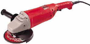 "MILWAUKEE 6088 7 - Milwaukee 6088-30 7""-9"" 15.0 Amp Large Angle Grinder/Sander w/Lock-on. New. Price/Each."