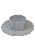 E-Curb 3 Inch ID Round Pipe Flashing Curb (1-Pair)