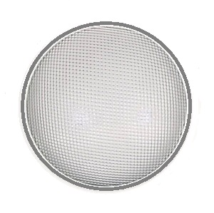 13 inch Skylight Diffuser Lens (Specify LENS TYPE) - 13 inch Tubular Skylight Diffuser Lens. Available in Prismatic, White or Skybrite. Also Domed or Flat. Its 14.25 inch OD fits 13 inch tubular Skylights. Price/Each. (specify LENS TYPE before adding to cart, Prismatic Option Shown, Shipping UPS only)