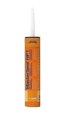 NP1 Caulking Sealant, REDWOOD TAN, 10.1 Oz