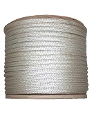 1 in. x 1200 ft. Double Braided White Nylon Rope